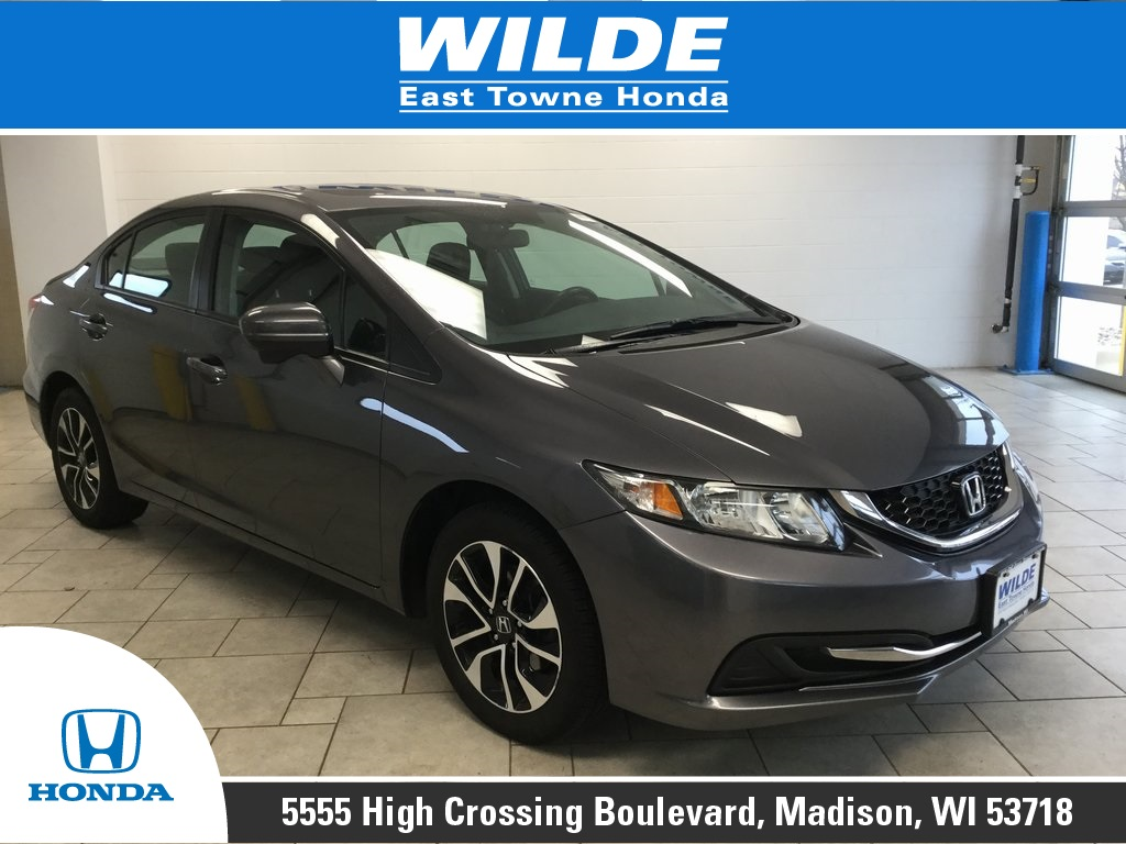 Certified Pre Owned 2017 Honda Civic Ex