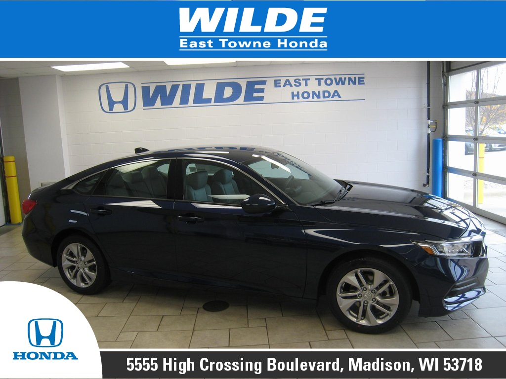 New 2019 Honda Accord Lx 4d Sedan In Madison 22790 Wilde East Towne