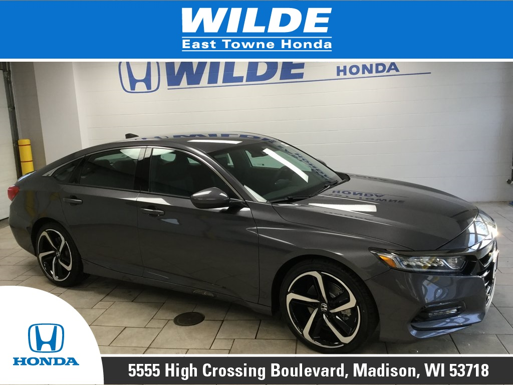 New 2019 Honda Accord Sport 4d Sedan In Madison 22643 Wilde East Towne