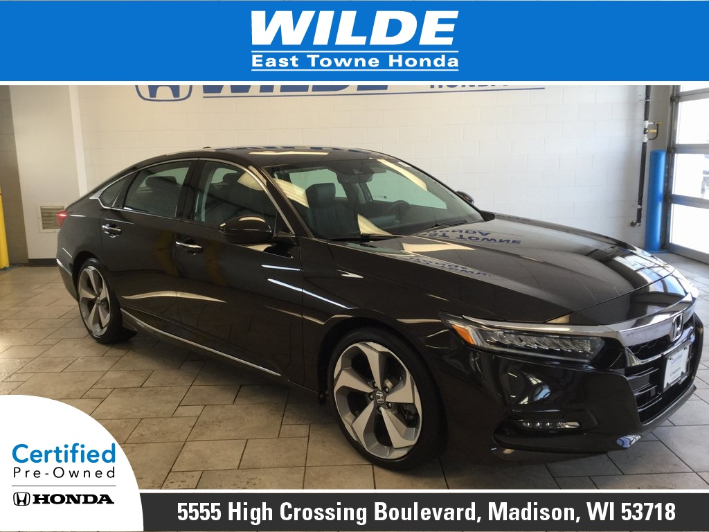 Certified Pre Owned 2018 Honda Accord Touring 4d Sedan In Madison P4819 Wilde East Towne