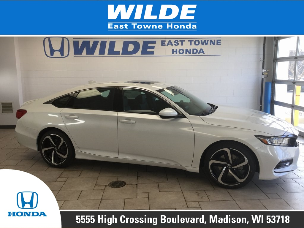 New 2019 Honda Accord Sport 2 0t 4d Sedan In Madison 22809 Wilde East Towne