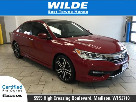 Pre-Owned 2016 Honda Accord Sport
